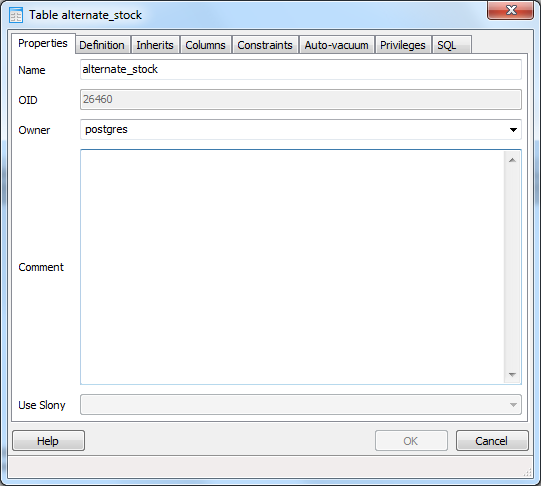 Documenting PostgreSQL Databases